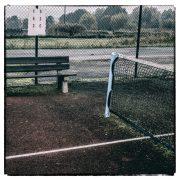 Der alte Tennisplatz