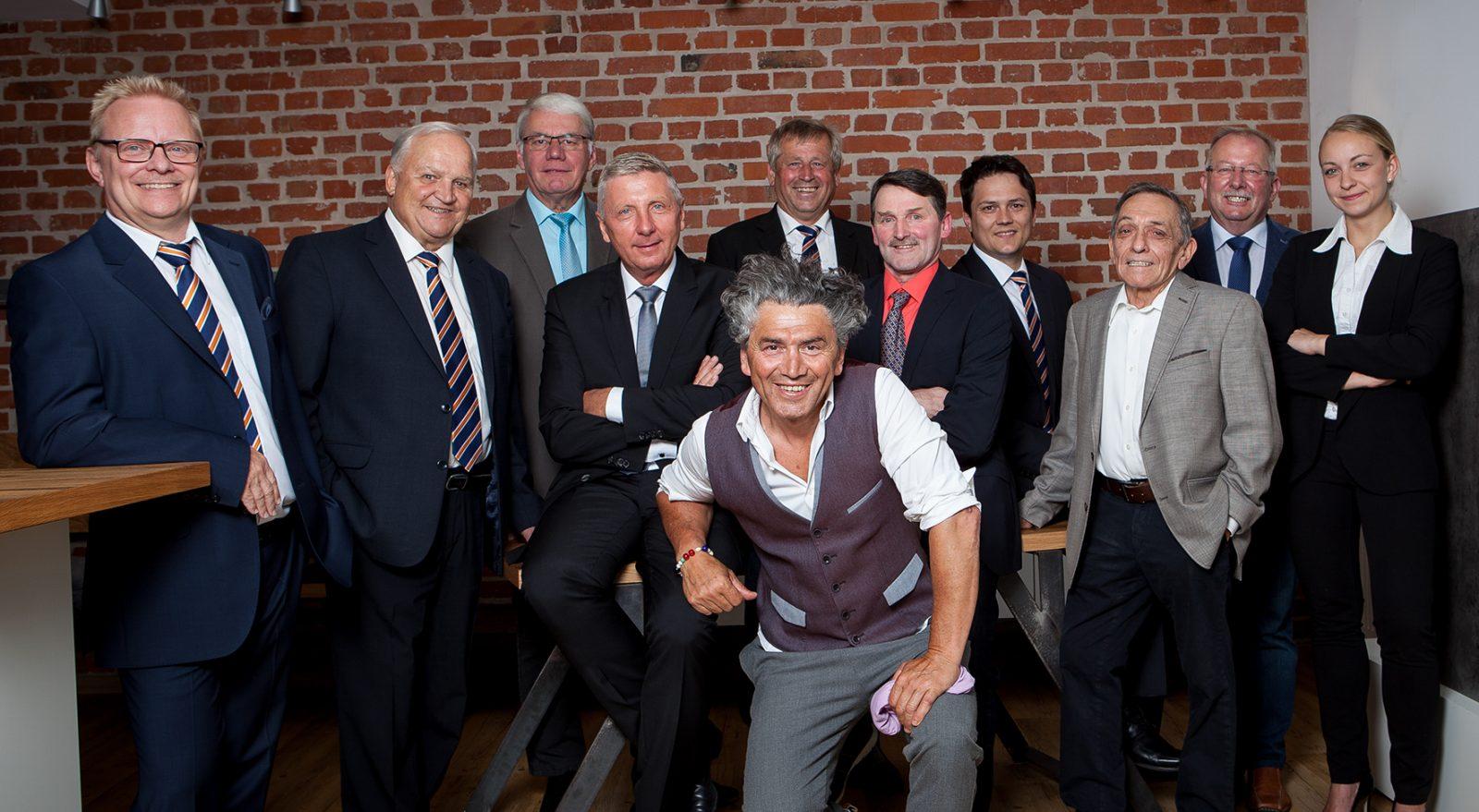 Aufsichtsrat und Vorstand der Raiffeisenbank